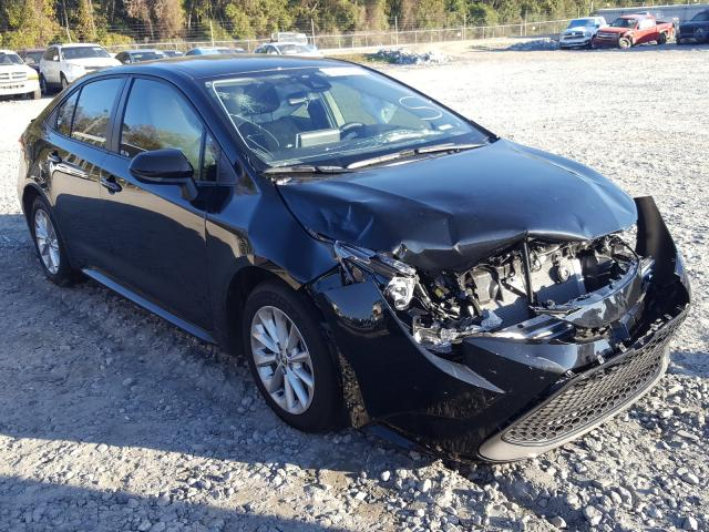 Salvage cars for sale from Copart Tifton, GA: 2021 Toyota Corolla LE