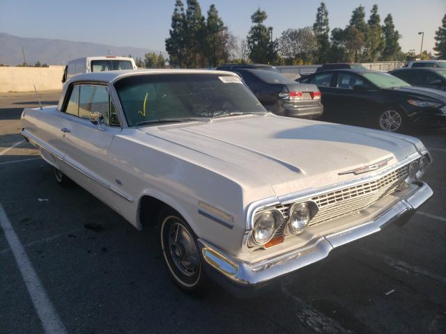 Salvage cars for sale from Copart Rancho Cucamonga, CA: 1963 Chevrolet Impala