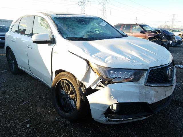 Acura MDX A-Spec salvage cars for sale: 2020 Acura MDX A-Spec