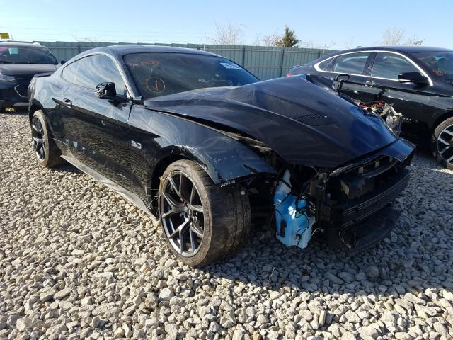 Salvage cars for sale from Copart Kansas City, KS: 2019 Ford Mustang GT