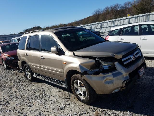 Salvage cars for sale from Copart Prairie Grove, AR: 2006 Honda Pilot