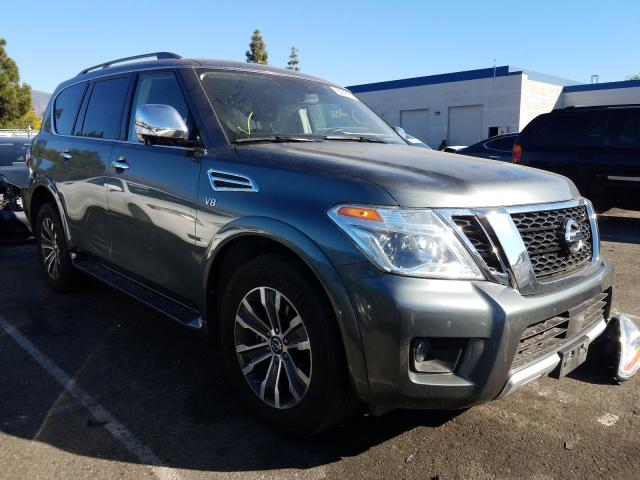 Salvage cars for sale from Copart Rancho Cucamonga, CA: 2018 Nissan Armada SV
