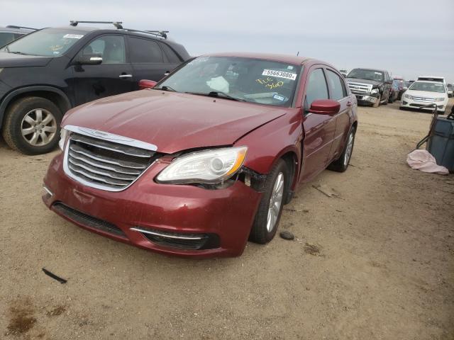 из сша 2013 Chrysler 200 Tourin 2.4L 1C3CCBBB3DN732876