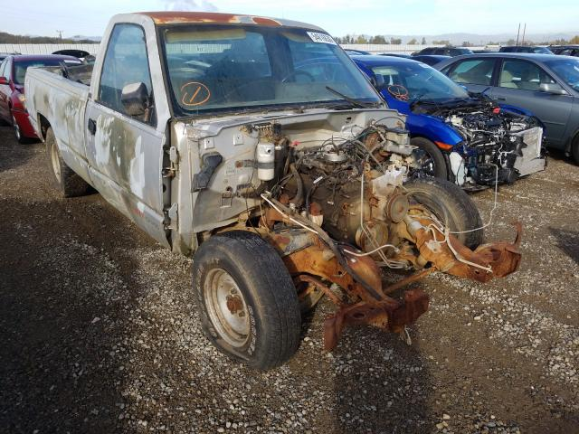 Salvage cars for sale from Copart Anderson, CA: 1991 Chevrolet GMT-400 C1