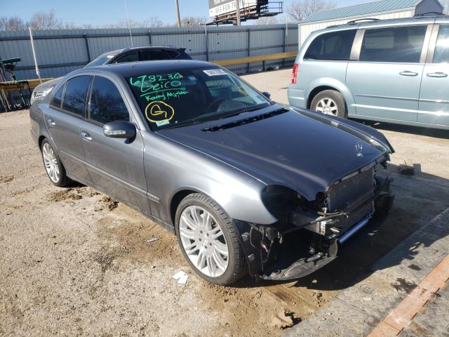 Salvage cars for sale from Copart Wichita, KS: 2006 Mercedes-Benz E 350