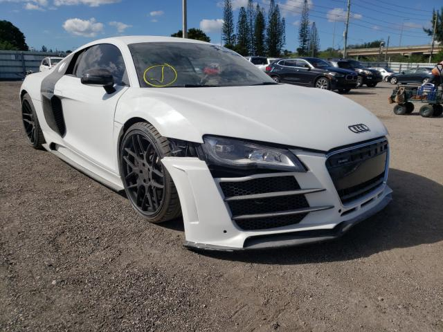 Salvage cars for sale from Copart Miami, FL: 2010 Audi R8