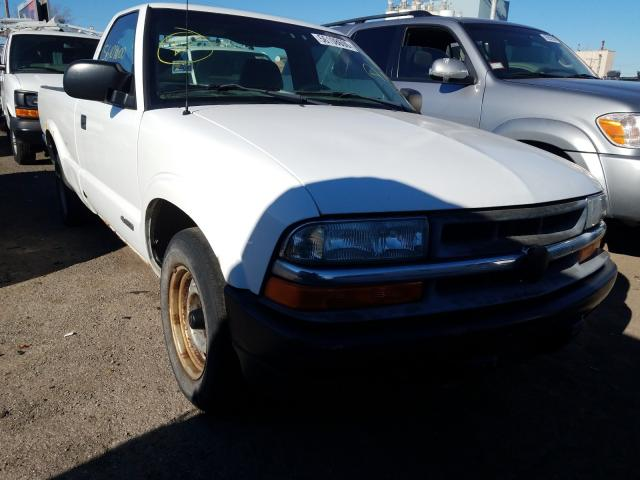 Chevrolet S10 salvage cars for sale: 2002 Chevrolet S10