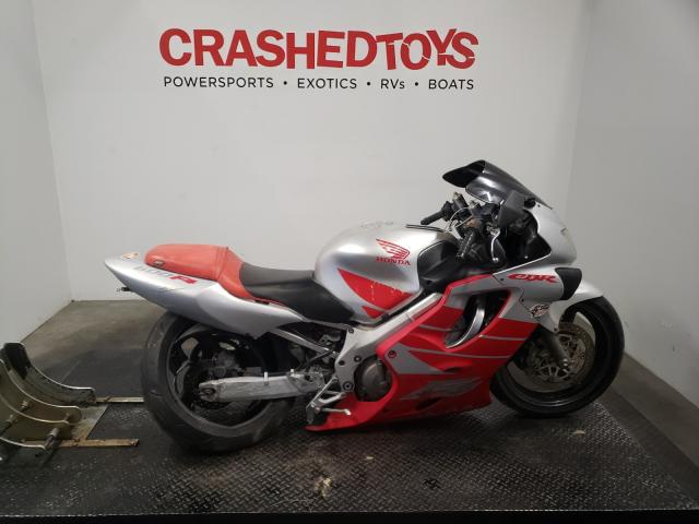 Honda CBR600 F4 salvage cars for sale: 2000 Honda CBR600 F4