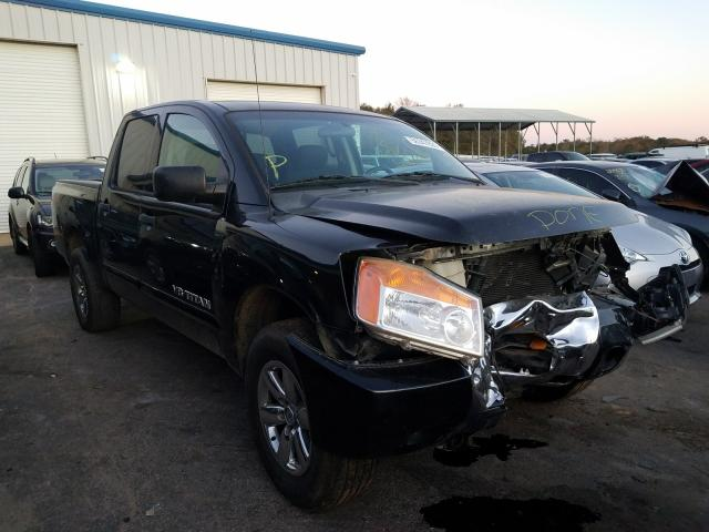 Salvage cars for sale from Copart Austell, GA: 2011 Nissan Titan S