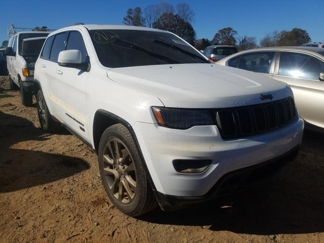 Vehiculos salvage en venta de Copart China Grove, NC: 2016 Jeep Grand Cherokee