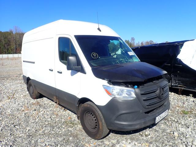 Salvage cars for sale from Copart Spartanburg, SC: 2019 Mercedes-Benz Sprinter 2