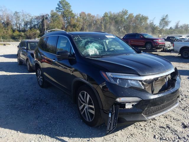 Salvage cars for sale from Copart Tifton, GA: 2018 Honda Pilot Touring