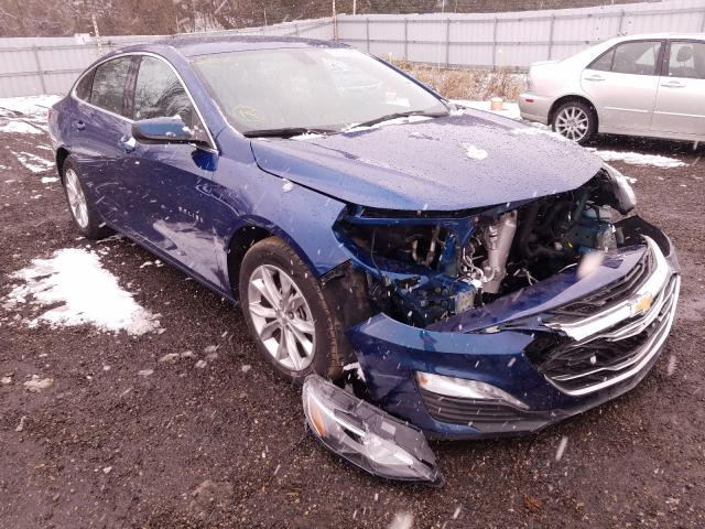 Salvage cars for sale from Copart London, ON: 2019 Chevrolet Malibu LT