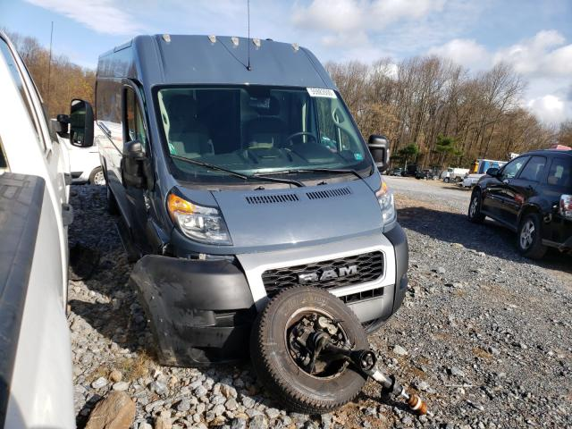 Salvage cars for sale from Copart York Haven, PA: 2019 Dodge RAM Promaster