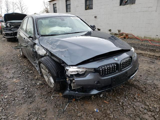 Salvage cars for sale from Copart Hillsborough, NJ: 2016 BMW 328 XI SUL