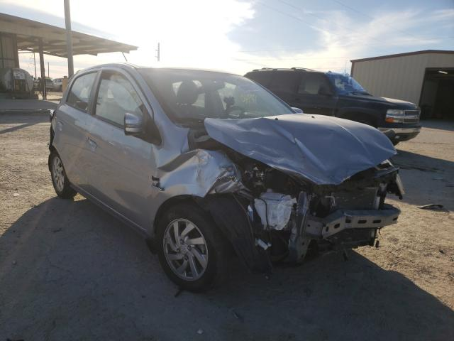 Salvage cars for sale from Copart Temple, TX: 2017 Mitsubishi Mirage SE