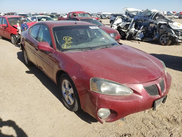 Salvage cars for sale from Copart Amarillo, TX: 2005 Pontiac Grand Prix