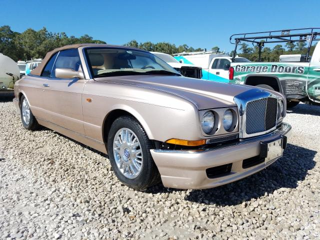 Bentley Azure salvage cars for sale: 2000 Bentley Azure