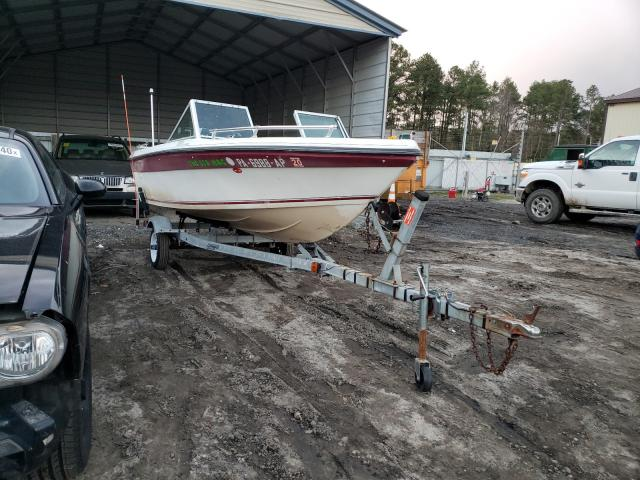 Salvage cars for sale from Copart Seaford, DE: 1988 Thun BOAT&TRAIL