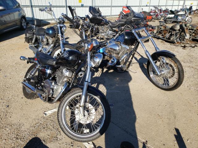 Salvage cars for sale from Copart Pekin, IL: 2009 Honda CMX250 C