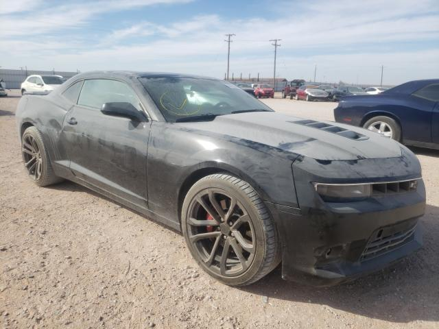 Salvage cars for sale from Copart Andrews, TX: 2014 Chevrolet Camaro 2SS