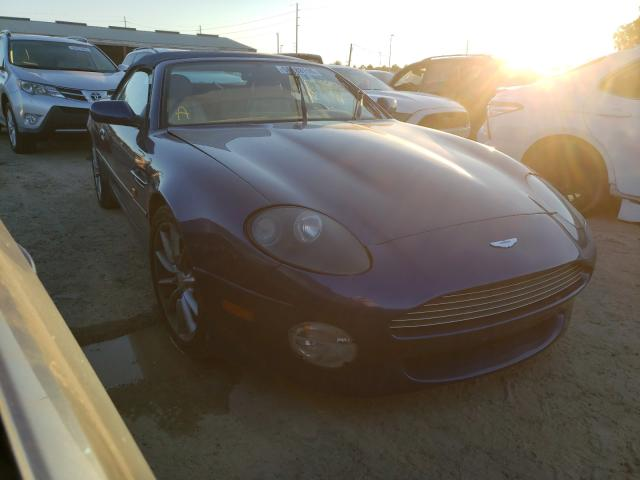 Aston Martin DB7 Vantag salvage cars for sale: 2002 Aston Martin DB7 Vantag