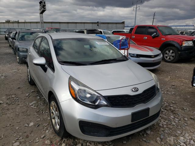 KIA Rio LX salvage cars for sale: 2013 KIA Rio LX