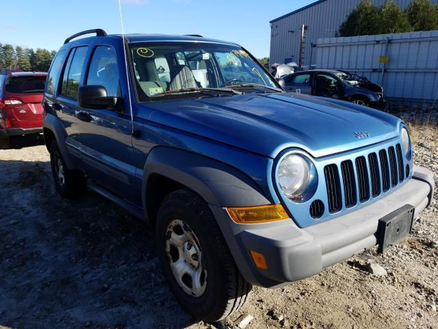 Jeep Liberty SP salvage cars for sale: 2005 Jeep Liberty SP