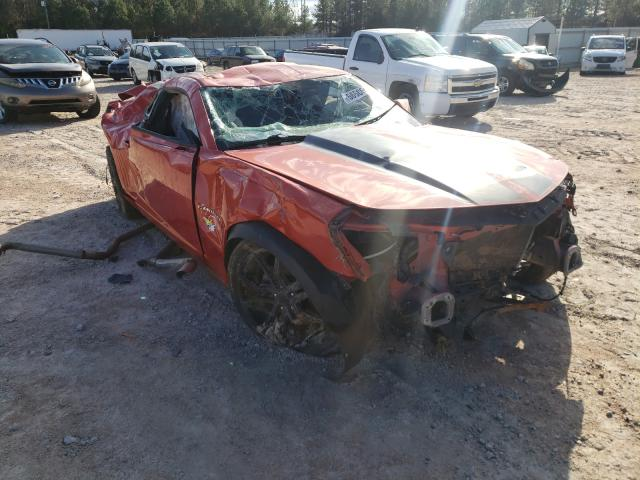 Salvage cars for sale from Copart Charles City, VA: 2011 Chevrolet Camaro LS