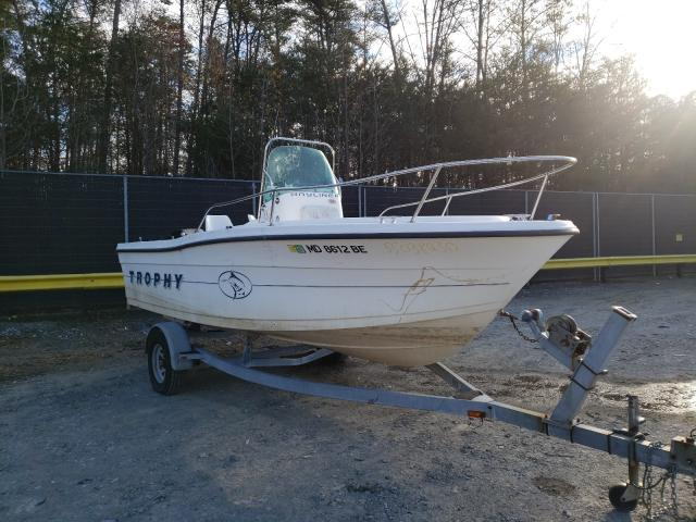 Bayliner salvage cars for sale: 1997 Bayliner Boat Trail