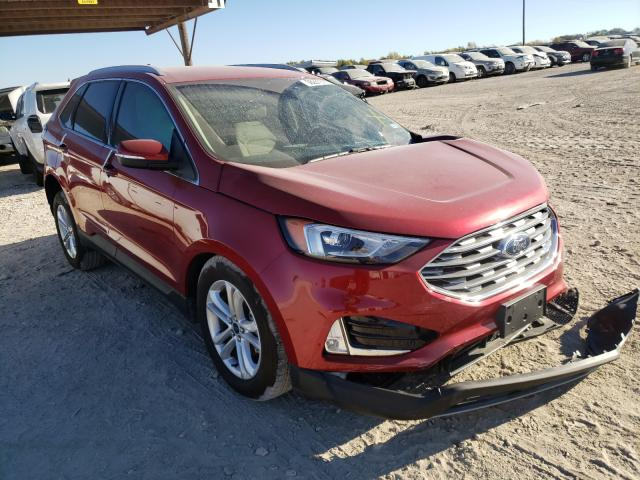 Salvage cars for sale from Copart Temple, TX: 2020 Ford Edge SEL