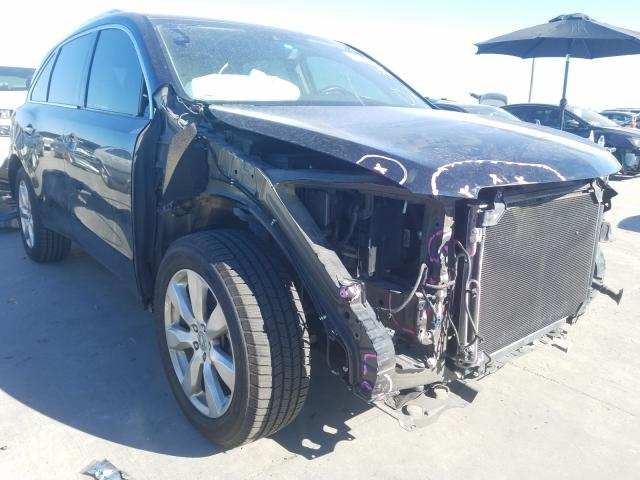 Salvage cars for sale from Copart Grand Prairie, TX: 2016 Acura MDX Advance