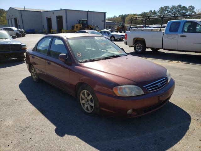 Salvage cars for sale from Copart Lufkin, TX: 2002 KIA Spectra BA