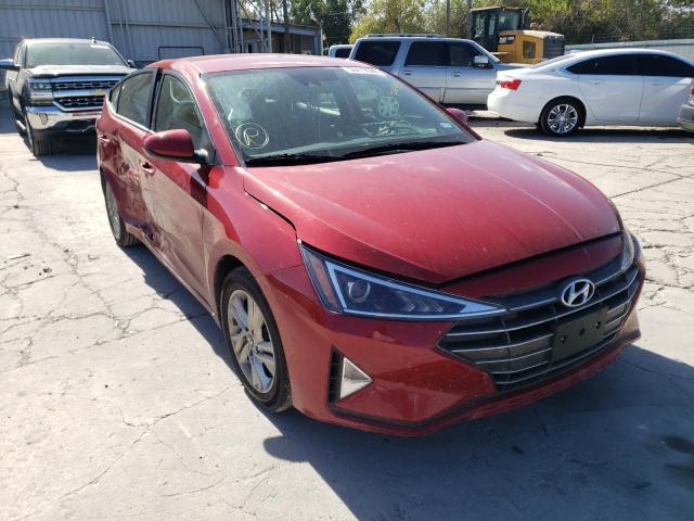 Salvage cars for sale from Copart Corpus Christi, TX: 2019 Hyundai Elantra SE