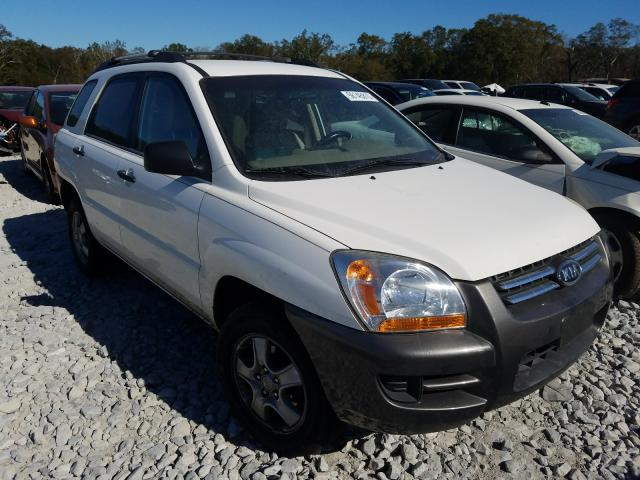 Salvage cars for sale from Copart Cartersville, GA: 2008 KIA Sportage L