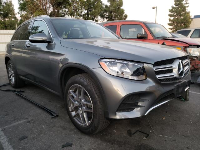 Salvage cars for sale from Copart Rancho Cucamonga, CA: 2019 Mercedes-Benz GLC 300