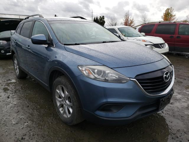 Salvage cars for sale from Copart Eugene, OR: 2014 Mazda CX-9 Sport