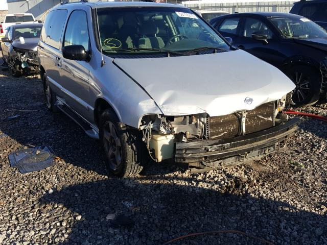 Nissan Quest GXE salvage cars for sale: 2001 Nissan Quest GXE
