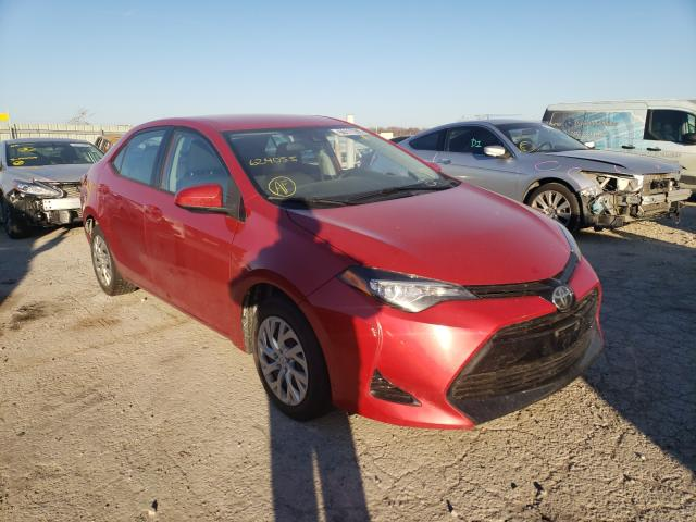 Salvage cars for sale from Copart Kansas City, KS: 2017 Toyota Corolla L