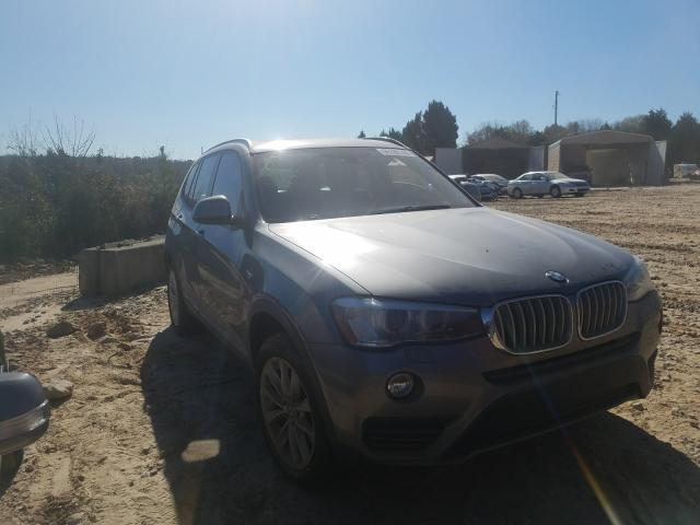 BMW X3 XDRIVE2 salvage cars for sale: 2016 BMW X3 XDRIVE2