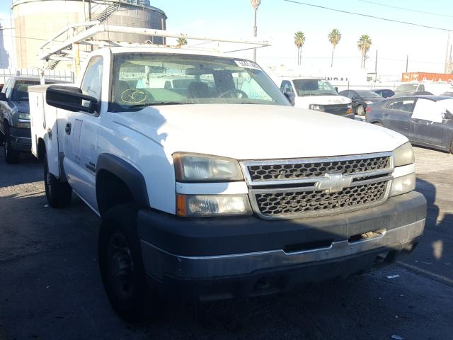 Salvage cars for sale from Copart Wilmington, CA: 2007 Chevrolet Silverado