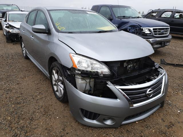 Salvage cars for sale from Copart Anderson, CA: 2014 Nissan Sentra S