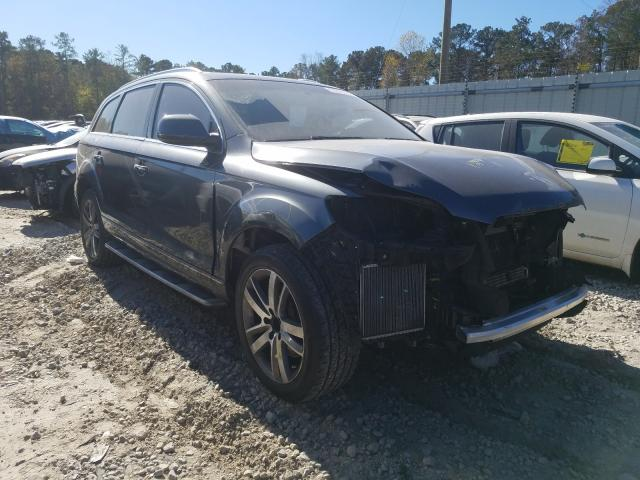 Salvage cars for sale from Copart Byron, GA: 2015 Audi Q7 Premium