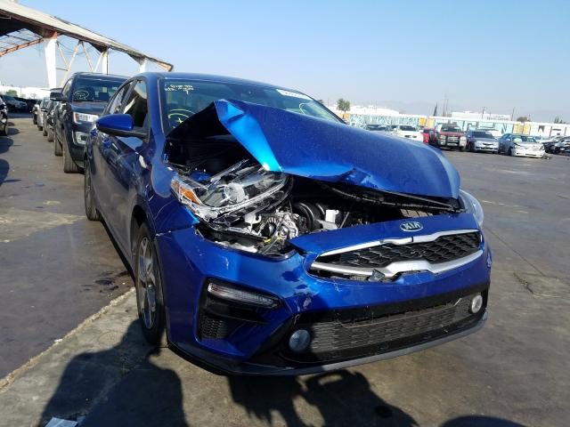 Salvage cars for sale from Copart Van Nuys, CA: 2020 KIA Forte FE