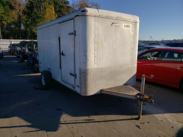 Pace American salvage cars for sale: 2003 Pace American Cargo Trailer