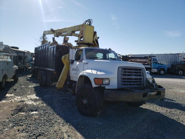 Ford F800 salvage cars for sale: 1997 Ford F800