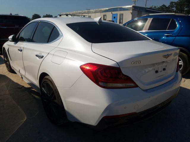 купить 2019 Genesis G70 Elite 2.0L KMTG34LA0KU014432