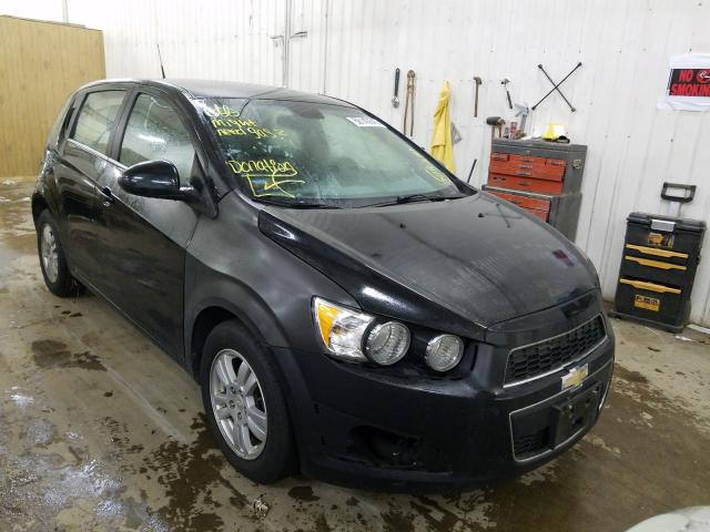 Chevrolet Sonic salvage cars for sale: 2013 Chevrolet Sonic