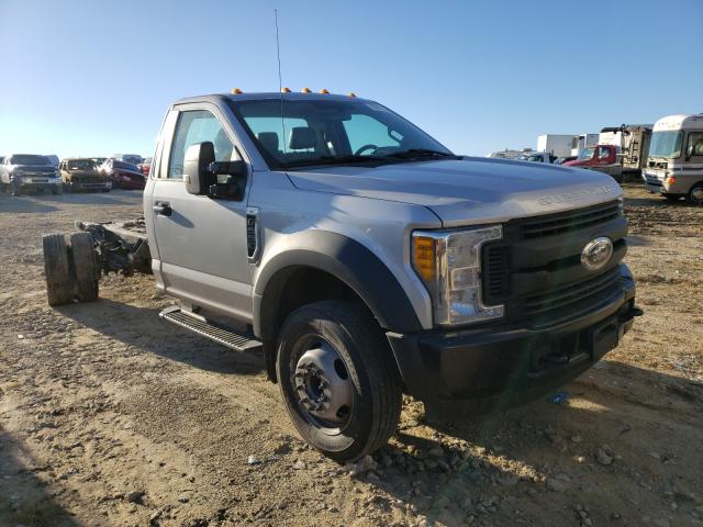 Salvage cars for sale from Copart Columbia, MO: 2017 Ford F550 Super