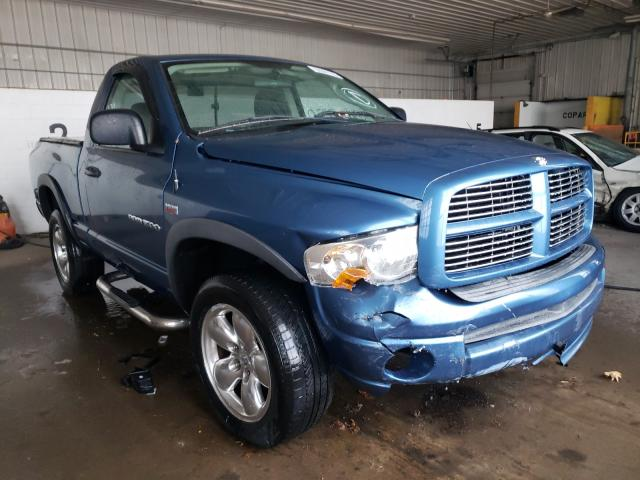 Salvage cars for sale from Copart Candia, NH: 2005 Dodge RAM 1500 S